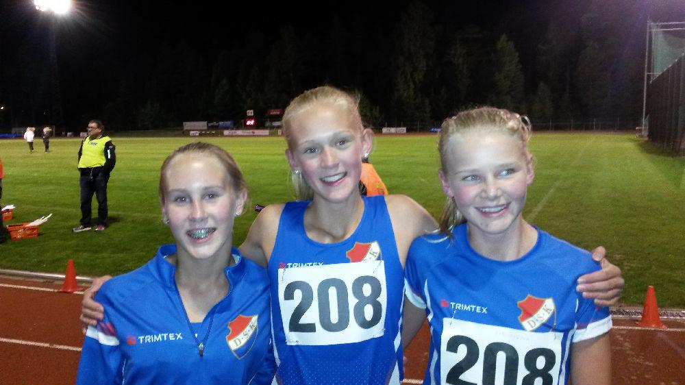 Stafett-DM, Huddinge 9/9 2015 - Danderyds SK - Friidrott